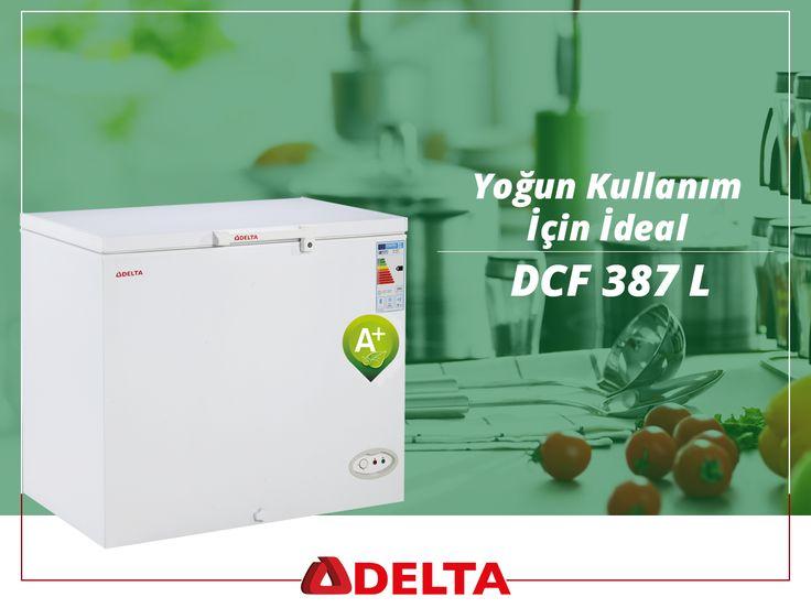 Delta DCF 387 derin dondurucular dayanıklı yapısı ile yoğun kullanım için ideal bir seçimdir. #Delta #DeltaSogutma