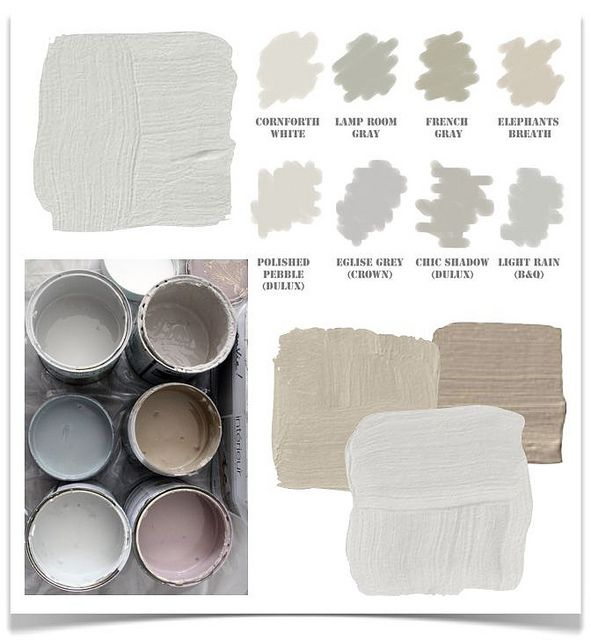 the difference between grey, greige, beige and taupe