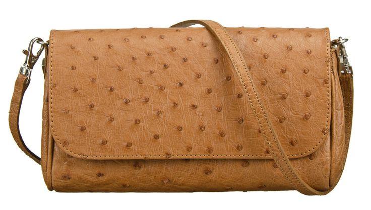 Khari Bag Wimbledon / Material Ostrich Leather / Dimensions: w22 x h12 x d3