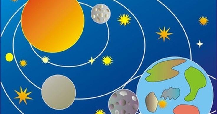 Cómo hacer un proyecto del sistema solar para niños