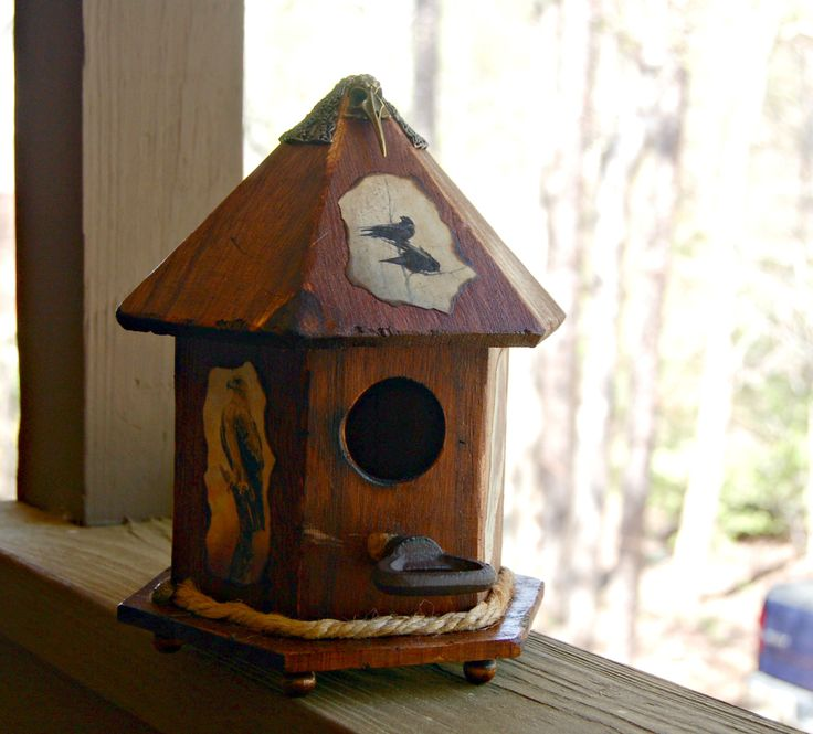my gothic bird house for sale handmade
