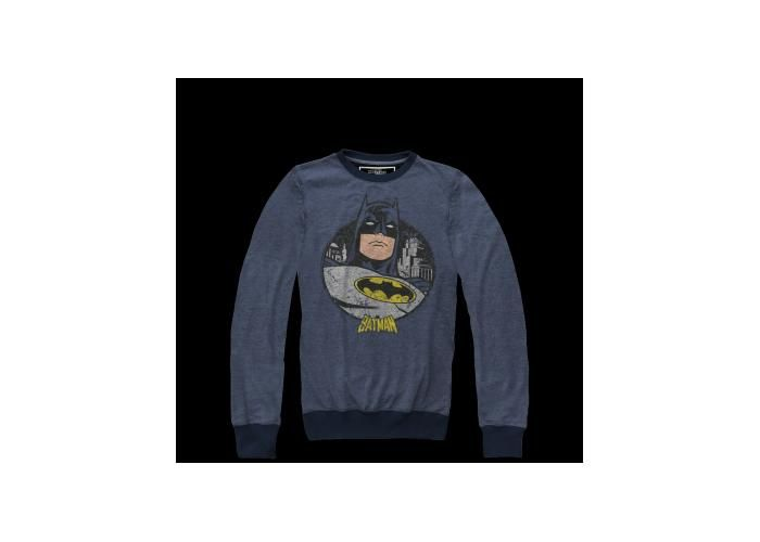 Vintage Batman Pullover Hombre -  #Batman #TheDarkKnight #DC #BatmanvSuperman #MascaraDeLatex