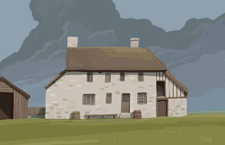 Houses on Behance