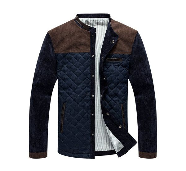 Item Type:JacketGender:MenClothing Length:Regular Material: Cotton,PolyesterType:Fitted Sizechart: US\EU