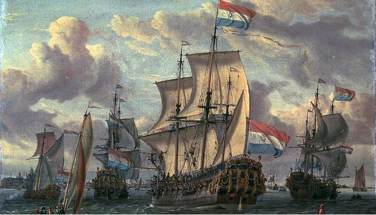 Rise and Fall of the Dutch East India Company (V.O.C.) A fierce battle to take the control of the Spices Trade opposed the Portugese, the English and the Dutch. The Dutch through the VOC, a private company, ruled these trade for more than a century, making the marchants of Amsterdam the richest of Europe.