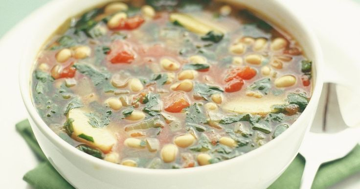 Hearty comfort meets healthy eating in this delicious low-fat vegetarian soup recipe.