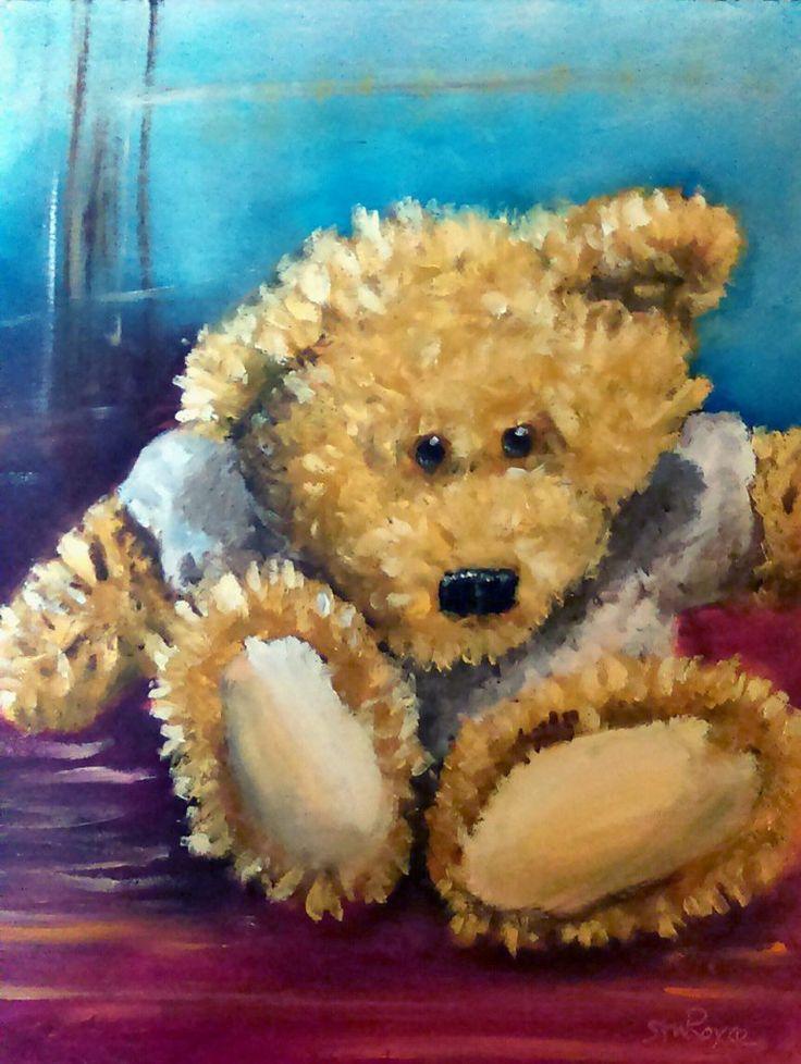Old Teddy Bear by sturoyce on DeviantArt