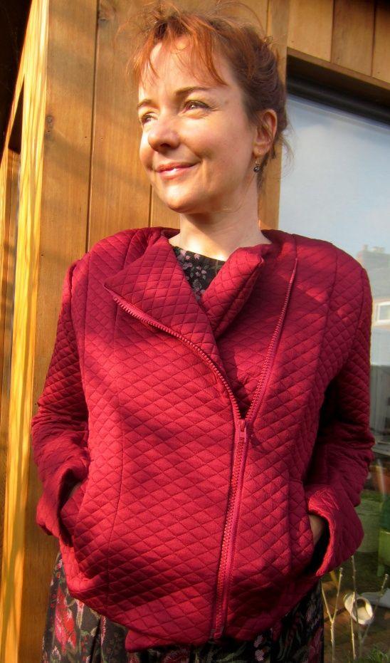 Lisette Moto jacket B6169 by Viola Gee | Project | Sewing / Outerwear | Kollabora