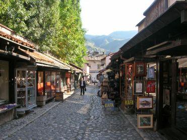 Sarajevo shops Bosnia