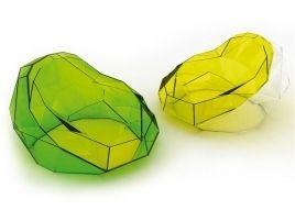 poltrona design plastica