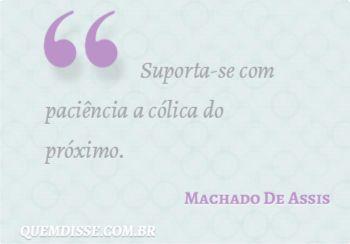 Frase de Machado De Assis