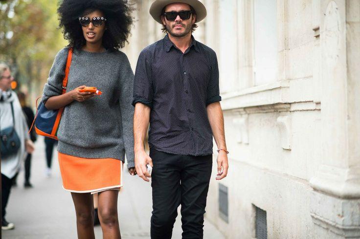 Street Style from Paris Fashion Week Spring 2014 -
