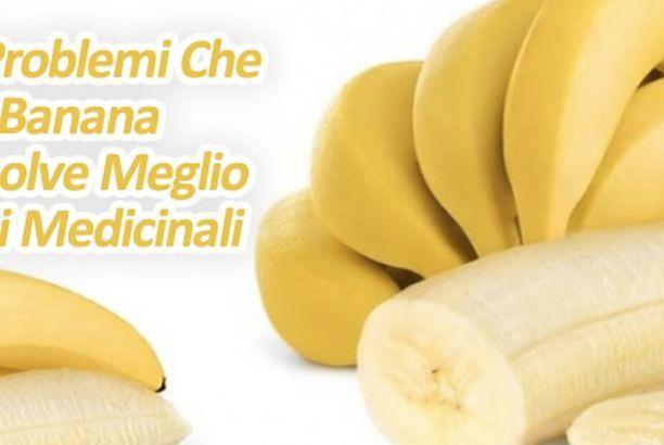 8 problemi che la banana risolve meglio dei medicinali