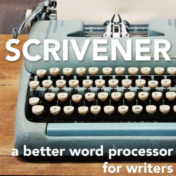 When I first started using Scrivener, I was skeptical. I thought, What can this do that I can't already do in Microsoft Word? I'm a true cheap skate, and the id