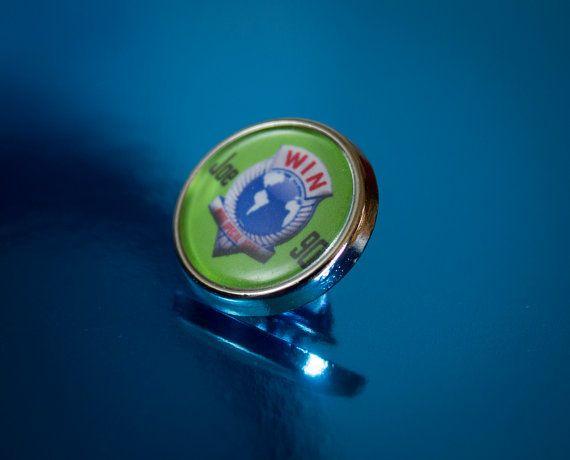 Retro Joe90 Lapel/Tie Pin Badge by UnofficiallyOriginal on Etsy