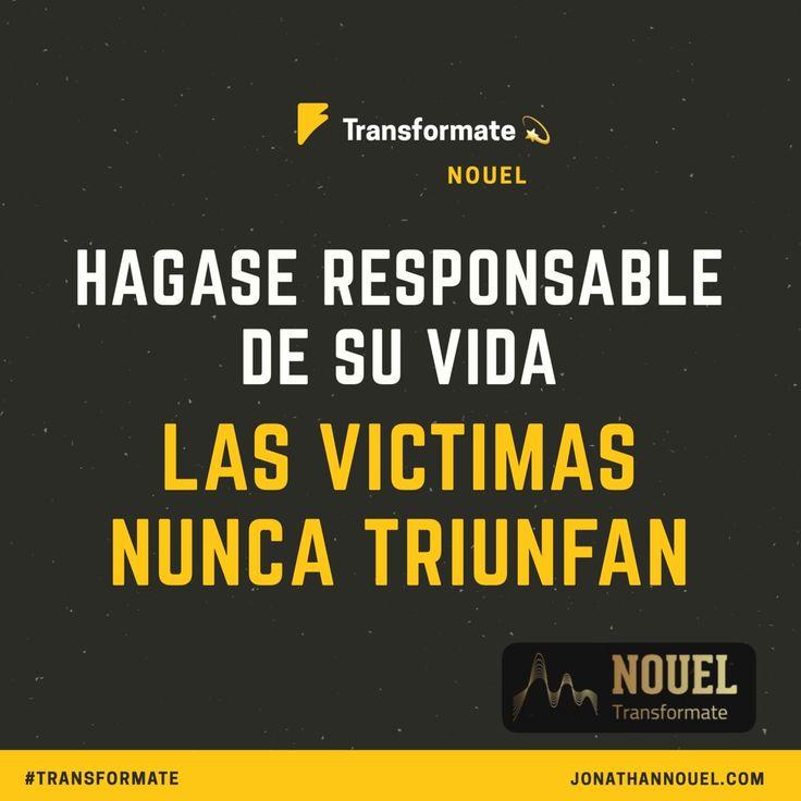 Hazte responsable de tus acciones Jonathannouel.com #transformate #liderazgo #RRHH #motivacion #blog #blogger #vida #feliz #happy