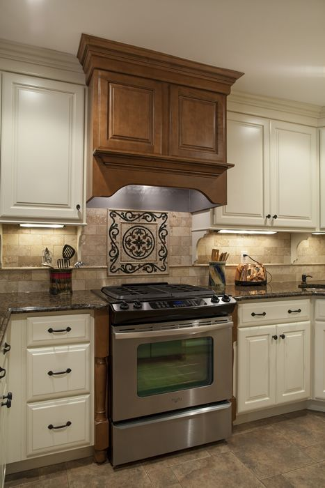Unique Ginger Maple Kitchen Cabinets
