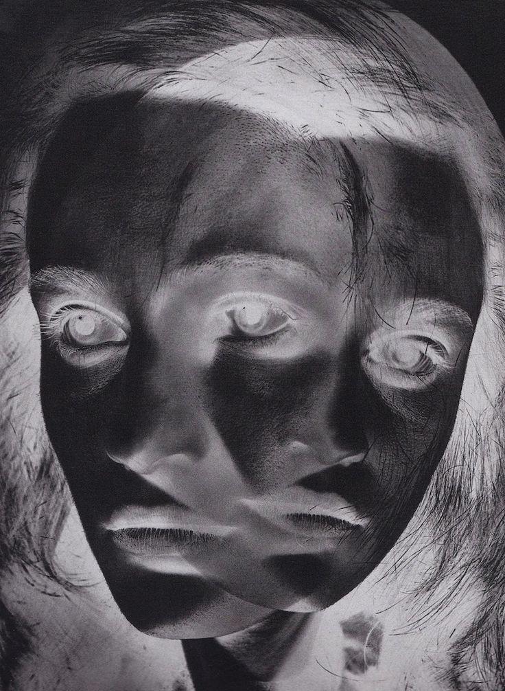 Otto Steinert (1915-1978) Maske einer Tänzerin (Dancer's Mask), 1952