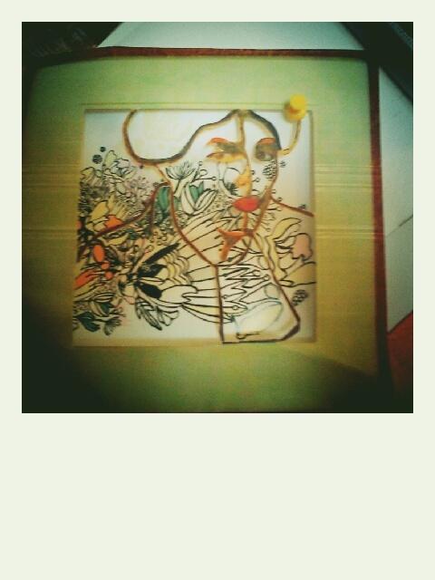 Changing Malevich self portrait