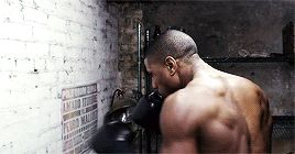 Pin for Later: Here Are 19 Reasons Michael B. Jordan Should Be Your Man Crush Monday Every Day When His Back Muscles Looked So Ridiculously Ripped That They Were Almost Too Much to Take In