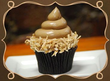 German chocolate cupcake from Curious Gourmet Cupcakes by Rachel from Cupcakes Take the Cake, via Flickr