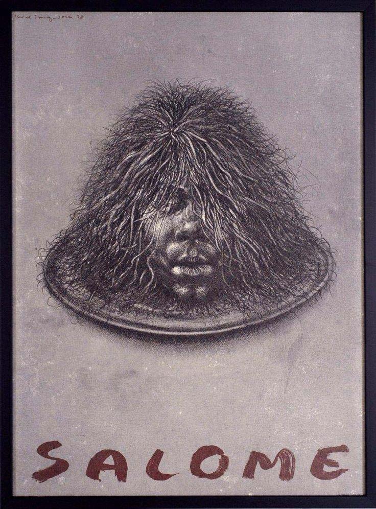 Kurt Trampedach. Salome. Poster