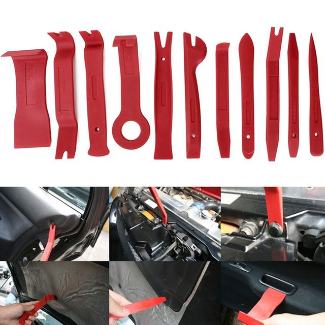 A  SET Car Door Interior Clip Panel Dashboard Installation Removal Pry Tool