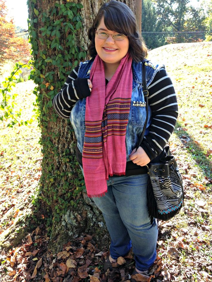 Unique Geek: Plus Size OOTD: It's A Texture Thing: