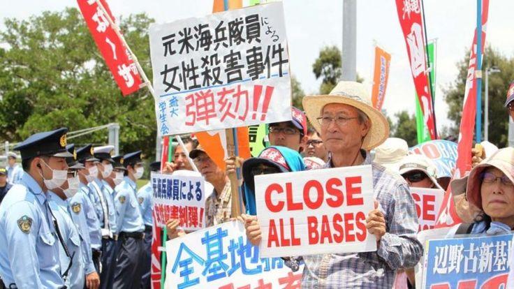Lançada unidade especial de patrulha em Okinawa, após o assassinato de mulher