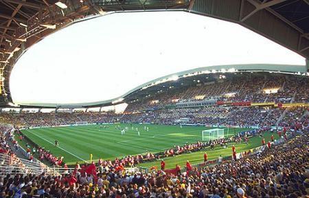 Nantes' soccer stadium