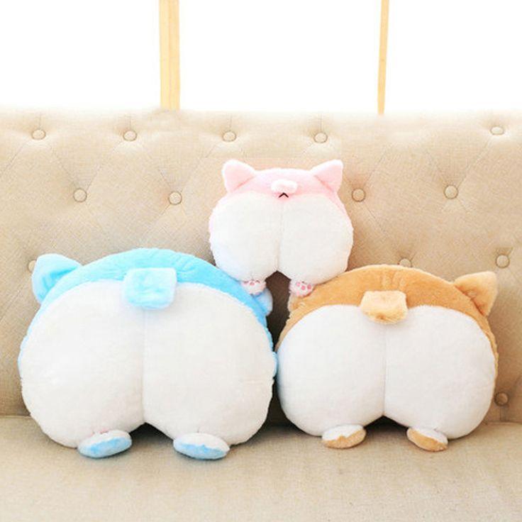 Corgi Doll Animal Cute Cartoon Plush Toy Pillow Birthday Gift Juguetes Perro Stuffed Animals Almofadas Toys For Girls 50G0421. Yesterday's price: US $29.06 (23.77 EUR). Today's price: US $15.40 (12.62 EUR). Discount: 47%.