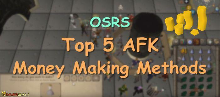 Osrs Gold Guide Top 5 Afk Money Making Methods Old School