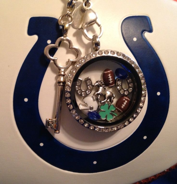 Indianapolis Colts - Origami Owl Living Lockets