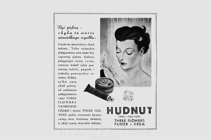 Three Flowers • reklama prasowa, 1937.