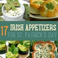 Are you planning your St. Patrick's day party? If you want some clean green fun, add some Irish appetizers on your menu. You won't fall short with appetizer recipes with this list that I've compiled to make sure that you'll have a blast on your St. Patrick's Day celebration!