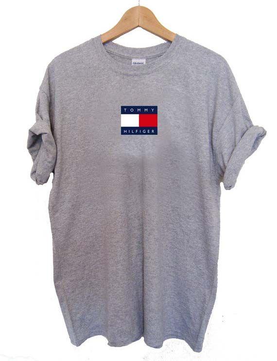logo small tommy hilfiger T Shirt Size XS,S,M,L,XL,2XL,3XL