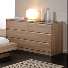 Life 6 Drawer Wide Chest