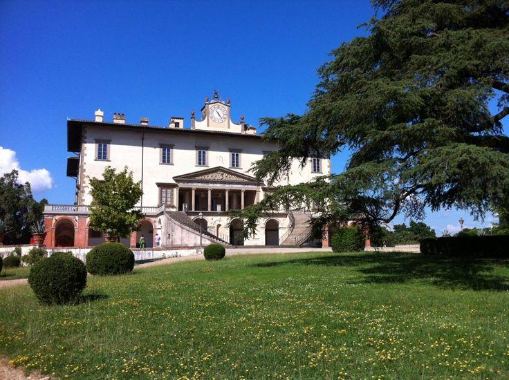 Villa Medicea Poggio A Caiano nel Poggio a Caiano, Toscana