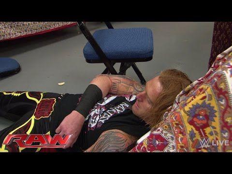 Heath Slater eats an RKO in catering: Raw, April 20, 2015 - YouTube