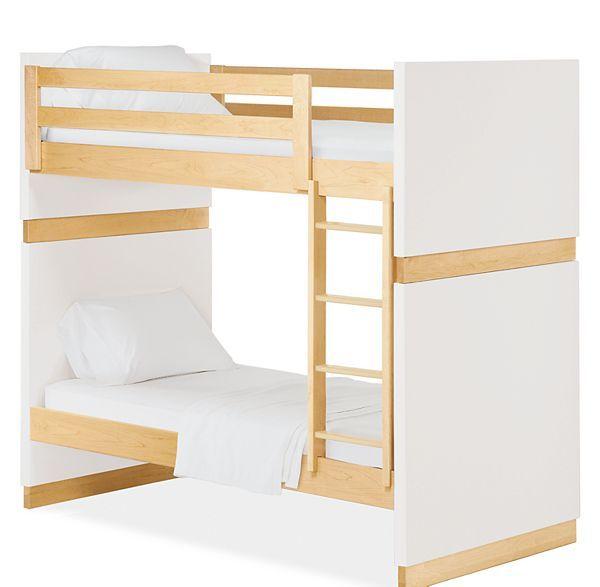 Moda Kids Wood Bunk Bed Modern Bunk Beds Loft Beds Modern