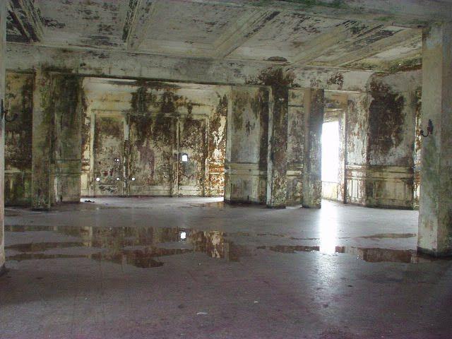 The abandoned resort of Bokor mountain, Cambodia: http://www.artificialowl.net/2009/08/abandoned-resort-of-bokor-mountain.html