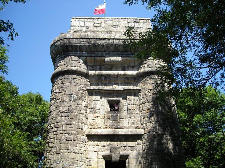 Bismarck Tower on Wieżyca, Poland
