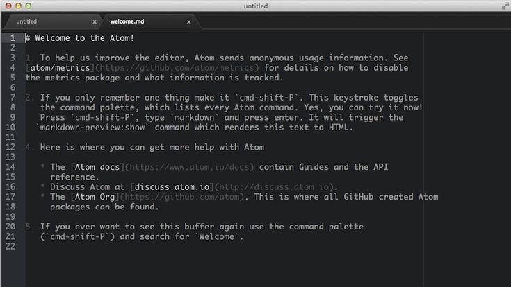 Atom, the Text Editor from GitHub, Goes Free and Open-Source
