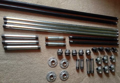 METAL PIPE NEEDED TO BUILD YOUR OWN METAL BED FRAME! How To Build A Bed Frame Out Of Metal Pipe