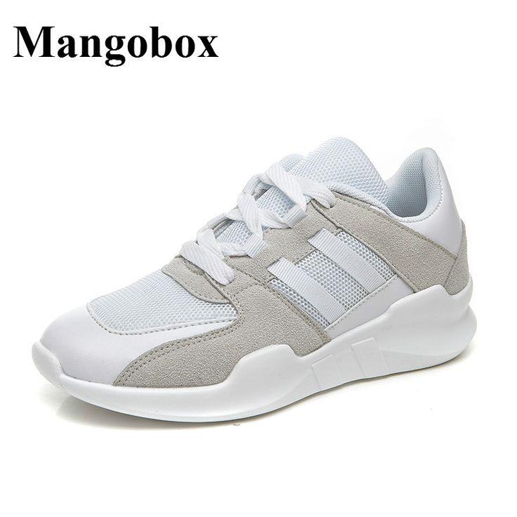 Mangobox Sport Shoes Women Summer Walking Jogging Sneakers New Sport Trainers Ladies Black White Womens Athletic Sneakers #Affiliate