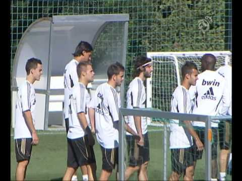 Ver Real Madrid continue their preparations for Champions League