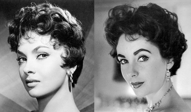 The Italian Cut: Italian screen sirens Gina Lollobrigida and Sophia Loren had the short and shaggy, yet sculptured hairstyle, featuring all over waves, soft curls and fluffy kiss curls.