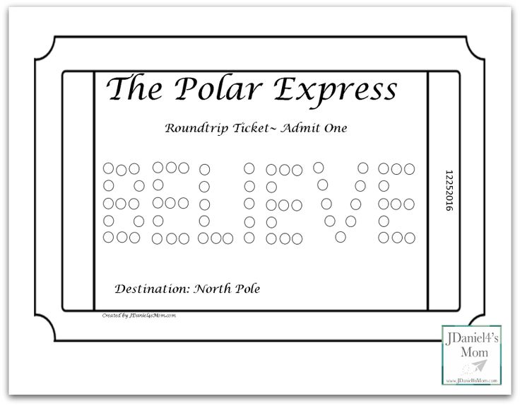 Polar Express Coloring Pages for Kids These set includes