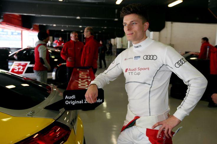 Josh Caygill courtesy of Audi Motorsport