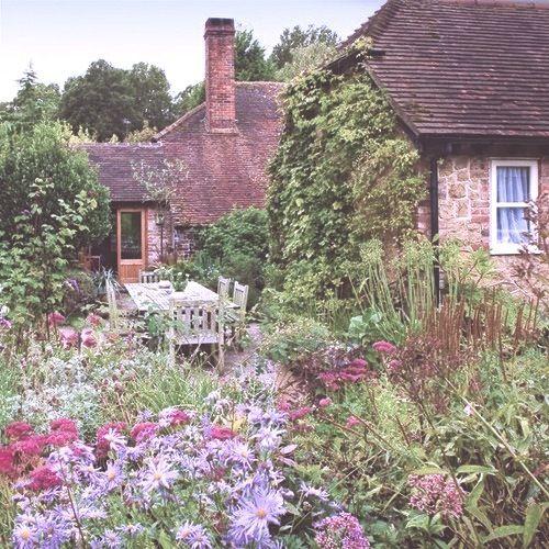 49 besten cottage g rten bilder auf pinterest mein - Cottage garten terrasse ...